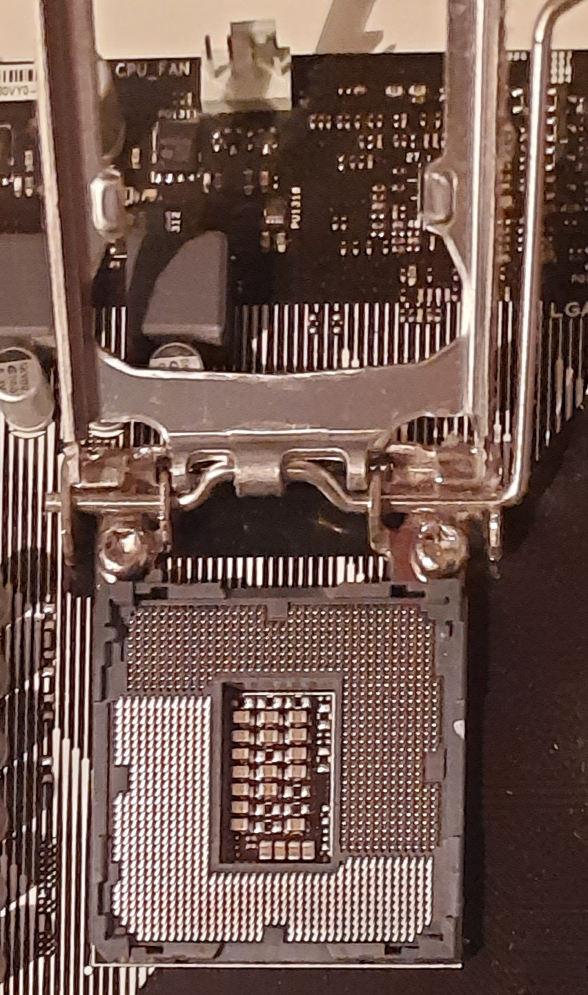 Steckplatz Prozessor